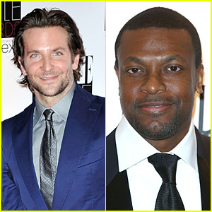 Bradley Cooper & Chris Tucker - Elle Style Awards 2013