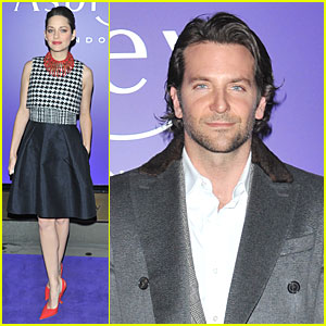 Bradley Cooper & Marion Cotillard: EE BAFTA Leading Nominees!