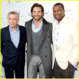 Bradley Cooper & Robert De Niro: Weinstein Pre-Oscars Party 2013!