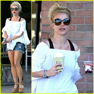 Britney Spears: Coffee Bean Cutie!