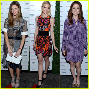 Brooklyn Decker & Jaime King: Vanity Fair Calendar Party!