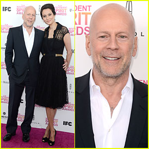 Bruce Willis & Emma Heming - Independent Spirit Awards 2013