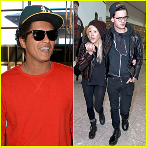 Bruno Mars & Ellie Goulding: Tour Dates Announced!