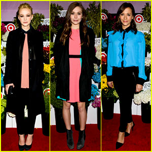 Carey Mulligan & Elizabeth Olsen: Prabal Gurung for Target Event!