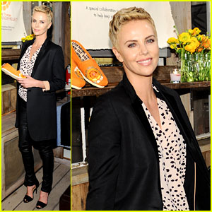 Charlize Theron: Africa Outreach Project & Toms Celebration!