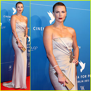 Charlize Theron: Cinema For Peace Gala!
