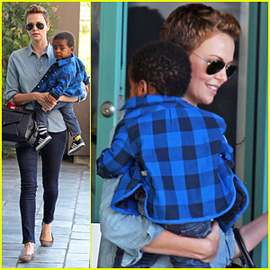 Charlize Theron: Fit For Kids with Jackson!