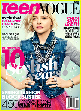 Chloe Moretz Covers 'Teen Vogue' March 2013