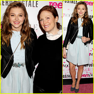 Chloe Moretz: Sweet 16 Birthday Bash with Julianne Moore!