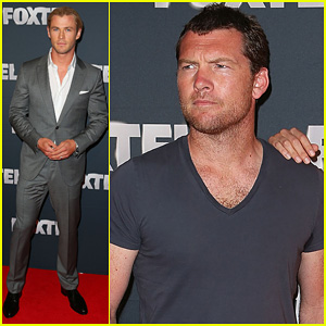 Chris Hemsworth & Sam Worthington: 2013 Foxtel Launch!