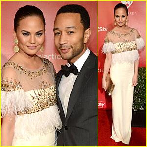 Chrissy Teigen & John Legend: Grammy's MusiCares Person of the Year Couple!