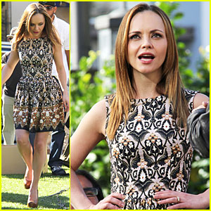 Christina Ricci Engaged to James Heerdegen - See the Ring!