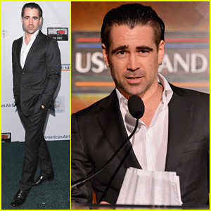 Colin Farrell: Pre-Oscars Oscar Wilde Irish Honoree!