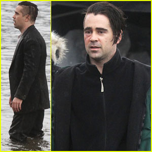 Colin Farrell: 'Winter's Tale' Water Scenes Filming