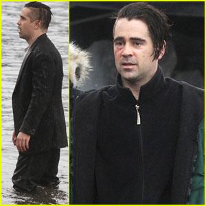 Colin Farrell: 'Winter's Tale' Water Scenes Filming