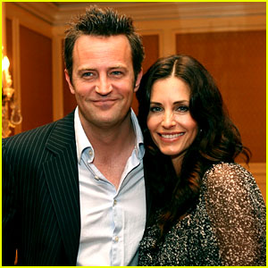 Courteney Cox & Matthew Perry Reuniting on 'Go On'!