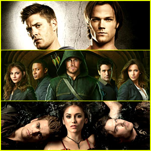 CW Renews 'Vampire Diaries,' 'Supernatural,' & 'Arrow'!