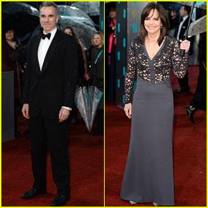 Daniel Day-Lewis & Sally Field - BAFTAs 2013 Red Carpet