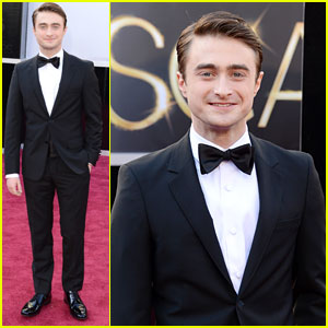Daniel Radcliffe - Oscars 2013 Red Carpet