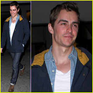 Dave Franco: Solo Movie Outing!