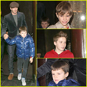 David Beckham: Tamarind Restaurant Dinner with the Boys!