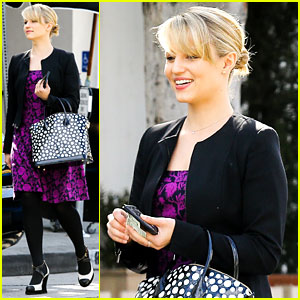 Dianna Agron: I Want to See Jane Lynch's Broadway Debut!