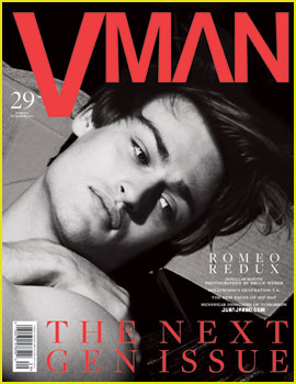 Douglas Booth Covers 'VMan' Next Gen Issue (Exclusive)