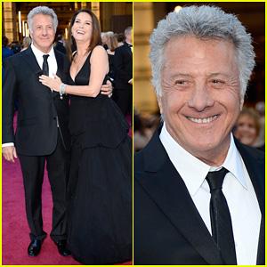 Dustin & Lisa Hoffman - Oscars 2013 Red Carpet