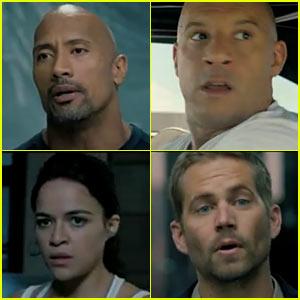 Vin Diesel & Paul Walker: 'Fast Six' Super Bowl Teaser - Watch Now!