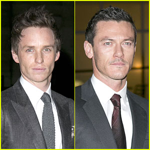Eddie Redmayne & Luke Evans: British Film Awards 2013
