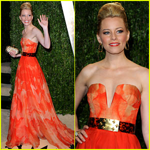 Elizabeth Banks - Vanity Fair Oscars Party 2013