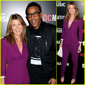 Ellen Pompeo & Chris Ivery: Roc Nation Pre-Grammy Brunch!