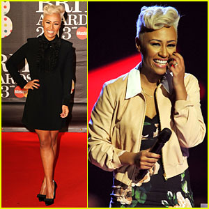 Emeli Sande - BRIT Awards 2013 Performance & Red Carpet