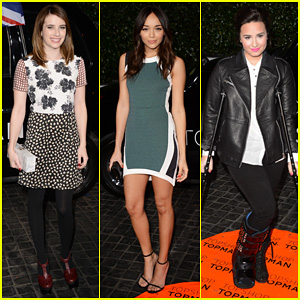 Emma Roberts & Ashley Madekwe: Topshop Topman LA Opening Party