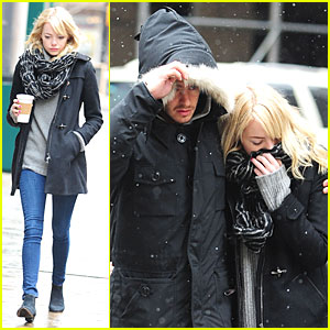 Emma Stone & Andrew Garfield: 'Amazing Spider-Man 2' Begins Production!