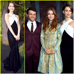 Emmy Rossum & Alice Englert: 'Beautiful Creatures' Premiere!