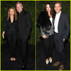 Eric Dane & Rebecca Gayheart: Chanel Pre-Oscars Dinner 2013