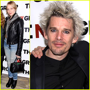 Ethan Hawke & Chloe Sevigny: 'Clive' Opening Night Party!
