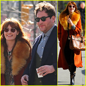 Florence Welch: Valentine's Day Stroll with a Mystery Man!
