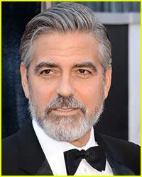 George Clooney: My Beard Makes Me Feel Old!