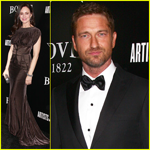 Gerard Butler: Hollywood Domino Pre-Oscar Gala!