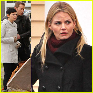 Ginnifer Goodwin & Jennifer Morrison: 'Once Upon A Time' Filming!