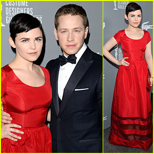 Ginnifer Goodwin & Josh Dallas - Costume Designers Guild  Awards 2013 Red Carpet