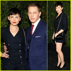 Ginnifer Goodwin & Josh Dallas - Chanel Pre-Oscars Dinner 2013