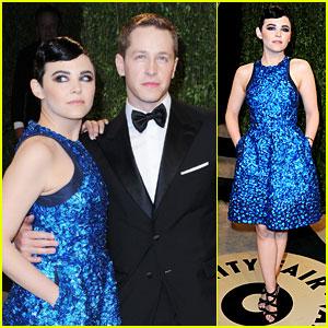 Ginnifer Goodwin & Josh Dallas - Vanity Fair Oscars Party 2013