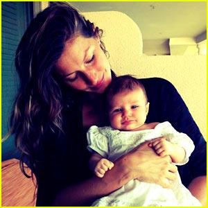 Gisele Bundchen Debuts Baby Vivian Lake!