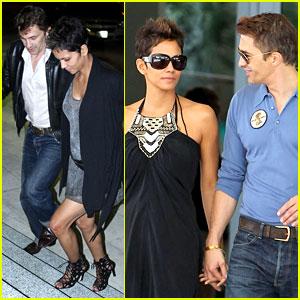 Halle Berry & Olivier Martinez: Miami Mates!