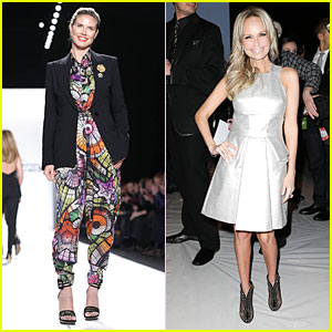 Heidi Klum & Kristin Chenoweth: Project Runway Fashion Show!