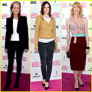 Helen Hunt & Emily Mortimer - Independent Spirit Awards 2013