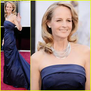 Helen Hunt - Oscars 2013 Red Carpet